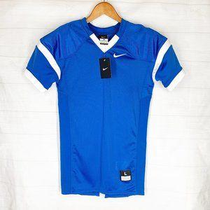 Nike Football Jersey Youth Boys L Royal Blue NEW